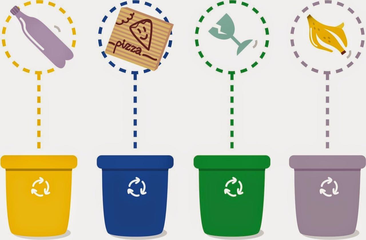 Раздельный прием мусора