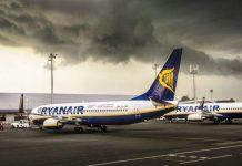 Ryanair временно отменяет рейсы на Тенерифе