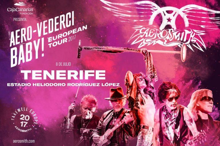 Прощальный концерт Aerosmith на Тенерифе
