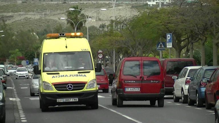 Рожденный в скорой помощи на Тенерифе