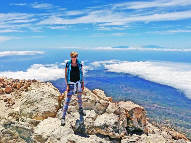 Пешком на вершину вулкана Тейде
