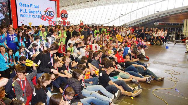 4000 человек примут участие в«First Lego League Canarias 2017»