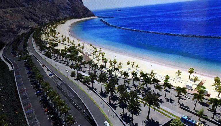 Большой парк расположится рядом спляжем Лас Тереситас