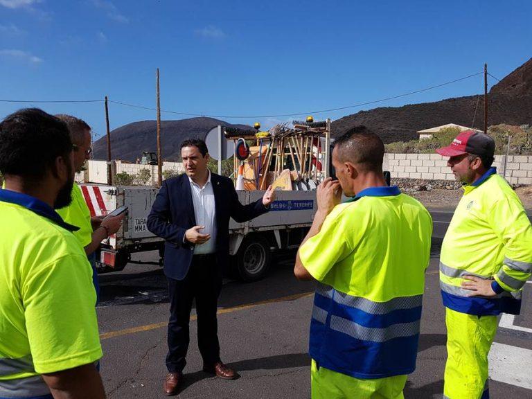 Дорога между Valle San Lorenzo иGuaza опасна для тысяч людей