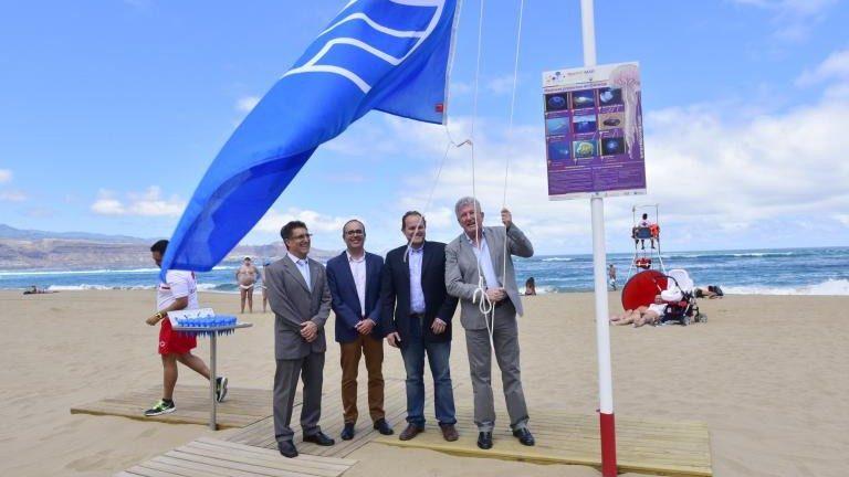 Каждый пятый пляж вИспании получил «голубой флаг»