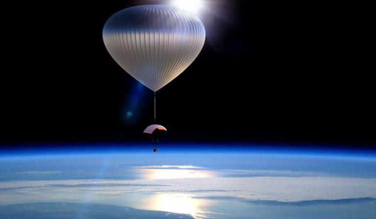 Через 2года туристы смогут отправиться вкосмос навоздушном шаре