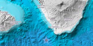 Землетрясение в 4 балла на юге Тенерифе