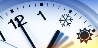 Перевод часов на зимнее время