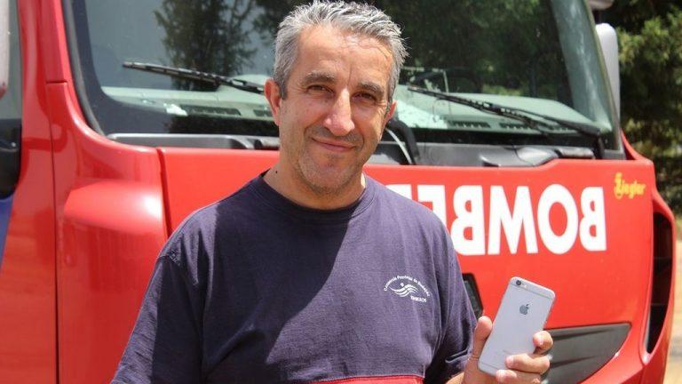 Пожарный изМериды побеждает почти вовсех конкурсах, проводимых испанскими супермаркетами