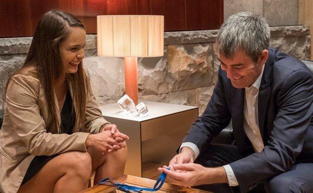 25 летняя Катайса Дельгадо завоевала титул чемпионки Европы в категории до 57 килограммов
