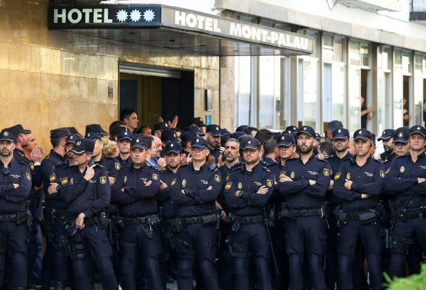 Кризис в Каталонии обошелся Испании в 1 млрд евро