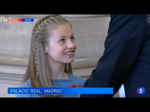 Король Испании назначил наследницей 12-летнюю дочь Леонор