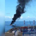 Судно с пятью пассажирами взорвалось на Тенерифе