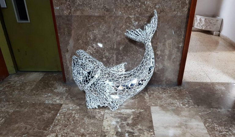 Вор украл скульптуру вСанта Крузе ивернул еечетыре дня спустя