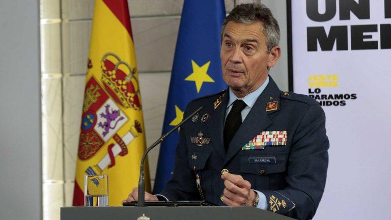 Начальник генштаба Испании ушёл вотставку из-за скандала свакцинацией