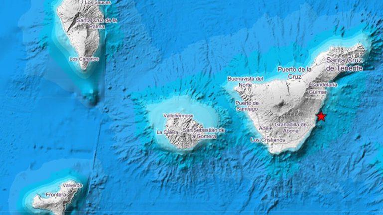 Землетрясение магнитудой 3,2 произошло упобережья Тенерифе